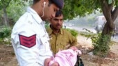 Delhi Traffic Police officials save life of newly-born girl found abandoned in bushes