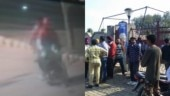 On Sunday, three people were killed and ten injured in a blast at Nirankari Bhawan in Rajasansi.