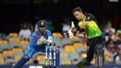 India vs Australia: Powerful Maxwell shot damages spider camera in Brisbane