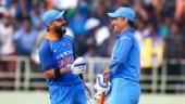 Virat Kohli and MS Dhoni, India vs West Indies