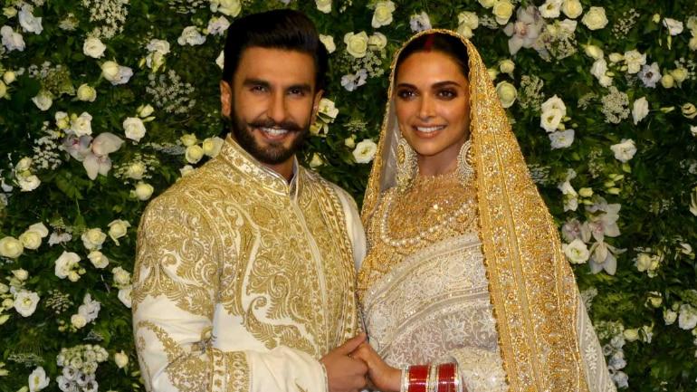 Deepika and Ranveer Mumbai wedding reception: First photos