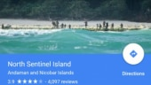 Google users now rating North Sentinel Island where American killed by stone-age tribe, reviews are hilarious