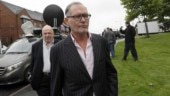 Paul Gascoigne was arrested at Durham train station in northern England