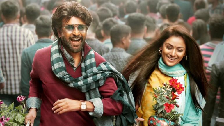 Petta new poster: Rajinikanth, Simran play a happy couple