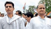 There exist two camps in the Rajasthan Congress -- one headed by Ashok Gehlot and the other by Sachin Pilot. (File photo)