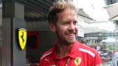 Sebastian Vettel had the one of the most unusual ways of communicating that something was knocking about in his cockpit