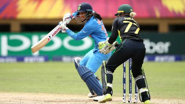 Smriti Mandhana scored a career-best 83 off just 55 balls