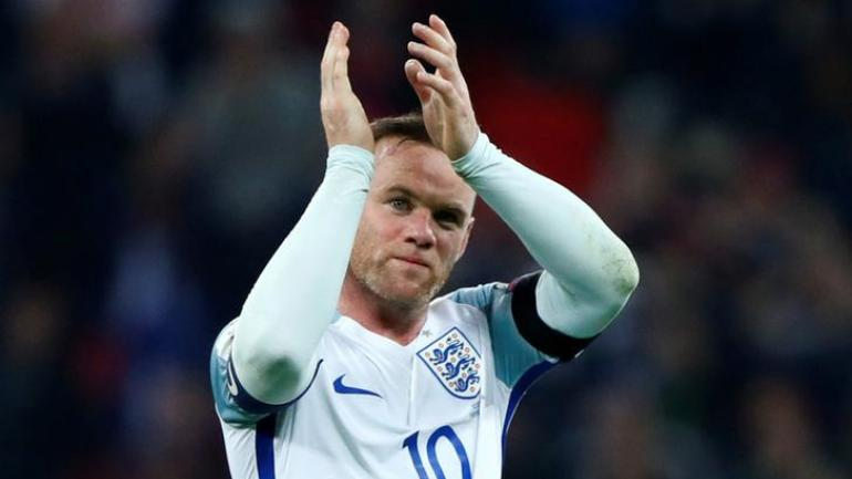 Wayne Rooney who has been named in England squad to face the United States in a charity game