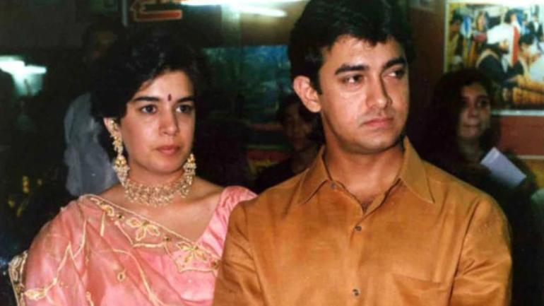 Image result for aamir khan  first wife pic
