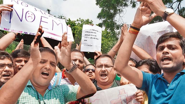 Amrapali buyers protest