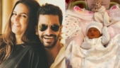 Bishan Singh Bedi shares first photo of Neha and Angad's daughter Mehr