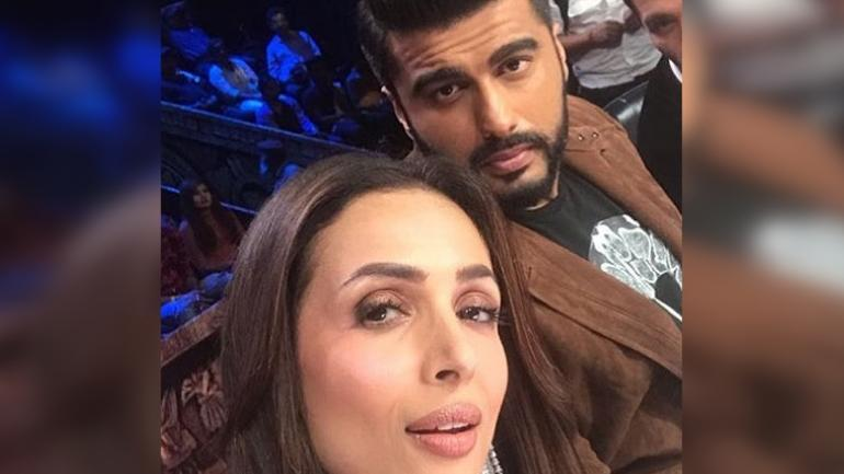 Wait, did Malaika Arora just confirm her relationship with Arjun Kapoor with an 'AM' pendant?