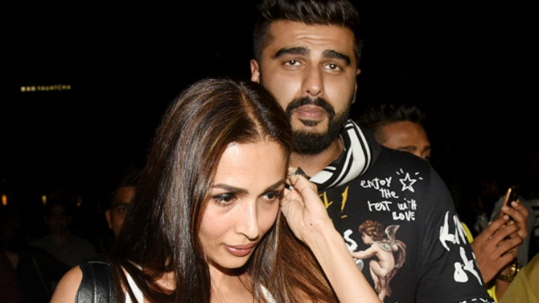Arjun Kapoor and Malaika Arora are busy painting the town red.