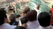 Fact Check: Green flags in Ashok Gehlot's function are not Pakistan's national flag