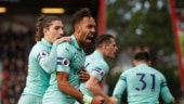Premier League: Aubameyang winner helps Arsenal beat Bournemouth