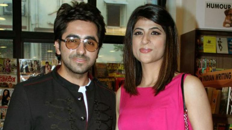 Image result for Ayushmann and Tahira Photos