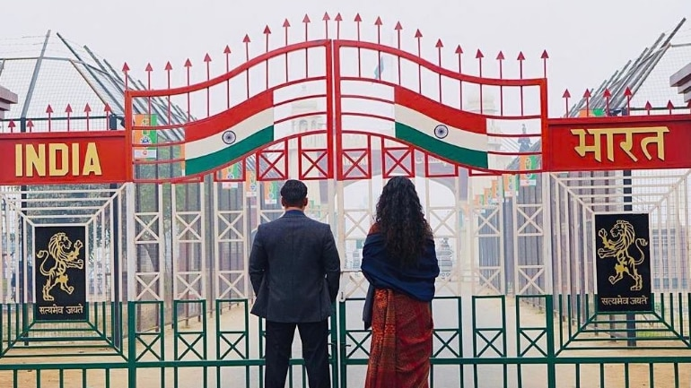 Salman Khan shares latest glimpse of Bharat with saree-clad Katrina Kaif