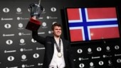 Magnus Carlsen collected a winner's prize of 550,000 euros (Reuters Photo)