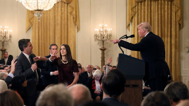 CNN sues White House over barring of correspondent