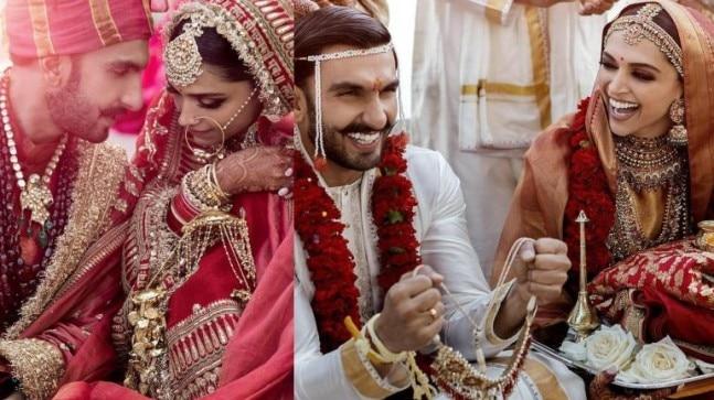 What Deepika and Ranveer wore for their weddings: Breaking ...