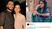 Ranveer and Deepika wedding photos memes.