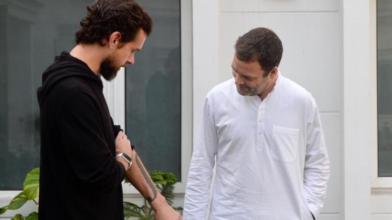That's why Twitter CEO met Rahul Gandhi