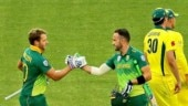 Faf du Plessis and David Miller shatter South African record in ODIs