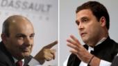 I do not lie: Dassault boss responds to Rahul Gandhi on Rafale