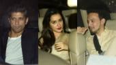 Did Farhan avoid Shraddha and her rumoured boyfriend Rohan Shrestha at party?