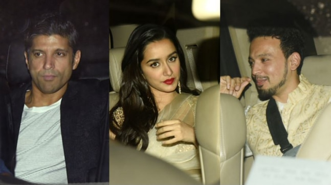 Did Farhan avoid Shraddha and her rumoured boyfriend Rohan Shrestha at party?
