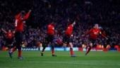 Marouane Fellaini fires Manchester United into UEFA Champions League last 16