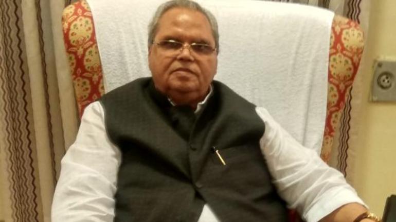 Image result for Jammu Kashmir rajya Pal malik
