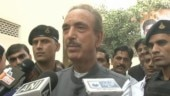 Leader of Opposition in Rajya Sabha Ghulam Nabi Azad