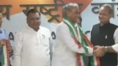 Former Rajasthan DGP Harish Chandra Meena quits BJP, joins Congress