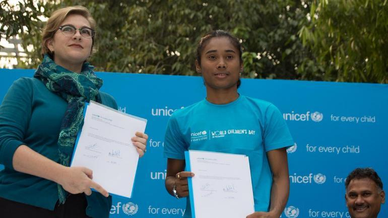 Hima Das appointed as UNICEF India's first youth ambassador