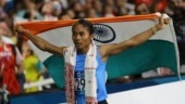 Hima Das, Athletics