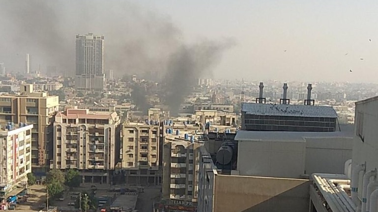 Karachi Chinese consulate TERROR ATTACK KILLS TWO as EXPLOSION and gunfire heard