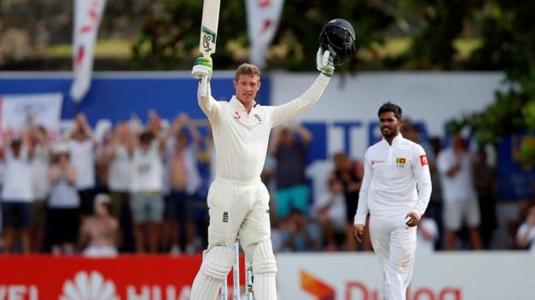 Jennings scored his second Test hundred and remained not out on 146 off 280 balls (Reuters Photo)