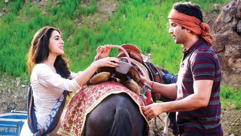 Sara Ali Khan shares behind the scenes snaps from movie 'Kedarnath'