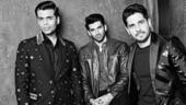 Karan Johar, Aditya Roy Kapoor and Sidharth Malhotra