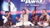 Krishna's music included Kabir, Lord Krishna, Jesus Christ in languages ranging from Kannada, Hindi Malayalam.