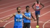Manjeet Singh beat compatriot Jinson Johnson to win the 800m gold at the Asian Games in August (AP Photo)