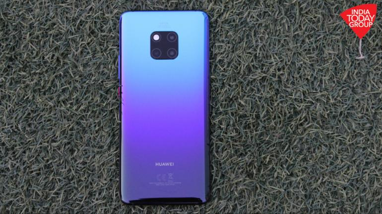 Huawei Launches Mate 20 Pro in India for 69,990 INR