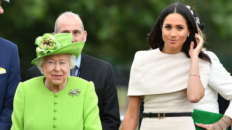 Meghan Markle and the Queen had a fight before the wedding.