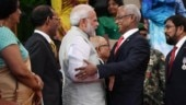 PM Modi attends Mohamed Solih's swearing in, says had productive talks