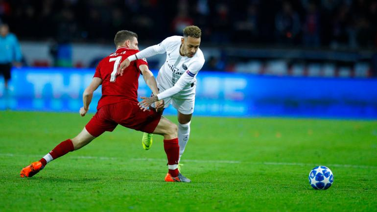 Frustrating when Neymar is falling like he is, says Liverpool's Andy