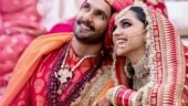 Ranveer says he married the most beautiful girl in the world. Deepika cannot stop blushing