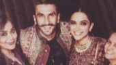 New photo: Deepika Padukone and Ranveer Singh with their team after the Konkani wedding at Lake Como on November 14