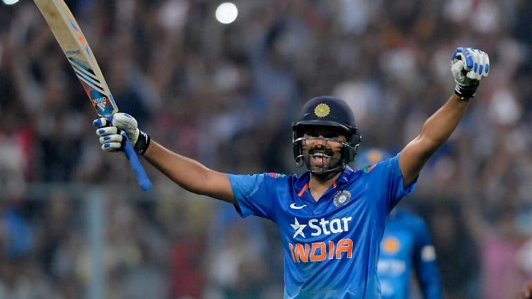 Rohit is the only batsman in the world to smash three double hundreds in one-day internationals (BCCI Photo)