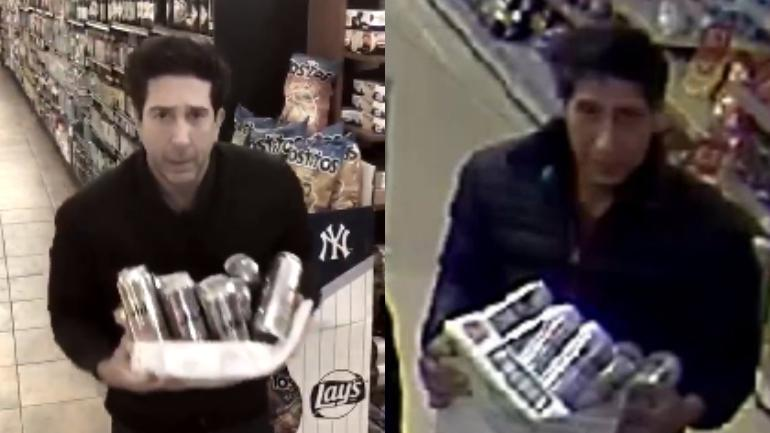 The One Where UK Police Arrest David Schwimmer Look-Alike Beer Thief